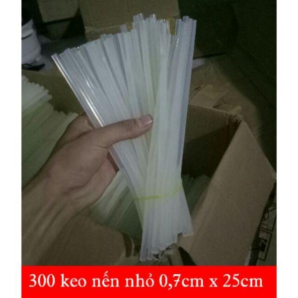 300 keo nến nhỏ, keo nến bé 0,7 x 25cm