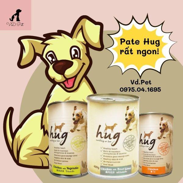 Pate Hug dành cho chó mọi lứa tuổi - Lon 400g