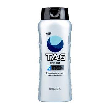 Sữa tắm gội Nam TAG Hair & BodyWash 3-In-1, Step Out  532ml nhập khẩu