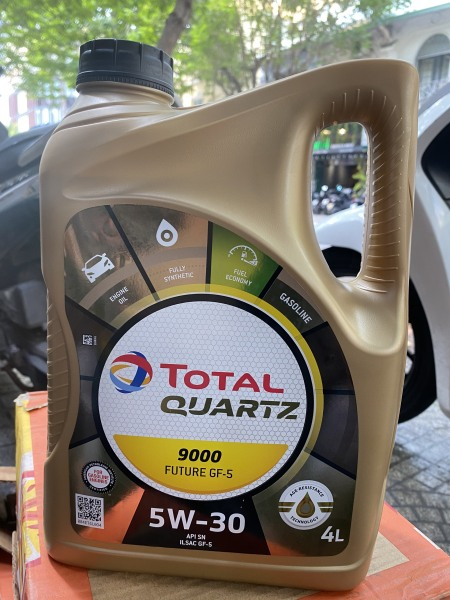 [HCM]Nhớt ô tô Total Quartz 9000 GF5 SAE 5W30 4L (S-OIL)