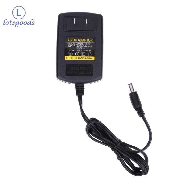 Bảng giá [miễn phí vận chuyển] {lotsgoods}DC15V 2A Adapter AC 100V-240V to DC 15V Converter Power Supply Adapter