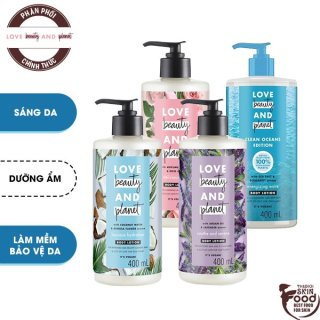 Sữa Dưỡng Thể Love Beauty And Planet Body Lotion 400ml thumbnail