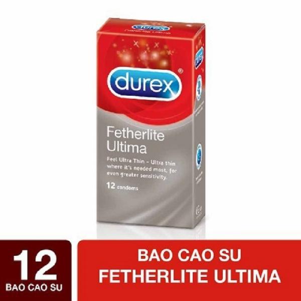 Bao cao su Durex Fetherlite Ultima hộp 12 chiếc
