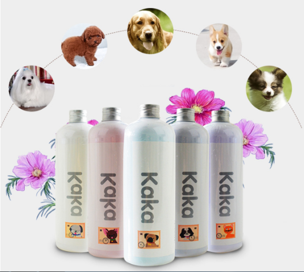 Dầu gội hương thơm cho chó KAKA tác dụng khử mùi chống ngứa