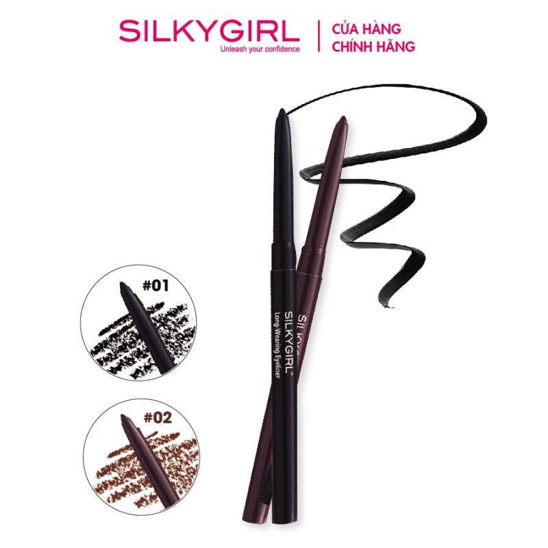 Chì Kẻ Mắt Silkygirl Long Wearing 0.28g