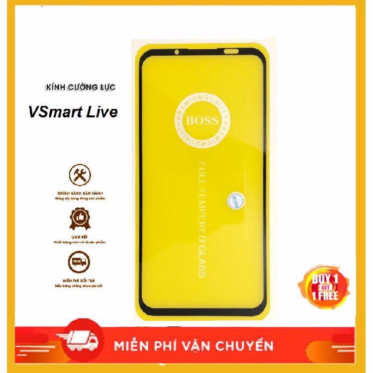 Giá Kính cường lực 9D Vsmart bee-Vsmart Live full màn hình, full keo tặng bộ phụ kiện dán