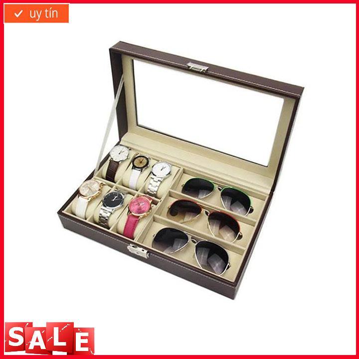 Nơi bán Hộp đựng đồng hồ cao cấp 10 ngăn bọc da PU,Hộp đựng đồng hồ và trang sức, hộp đựng đồng hồ, hộp đựng trang sức, hộp đựng đồng hồ và trang sức,Hộp đựng đồng hồ, Hộp đựng đồng hồ da, hộp đựng da, hộp đựng