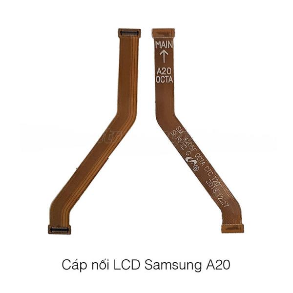 CÁP NỐI MÀN HÌNH LCD SAMSUNG A20 ZIN chính hãng