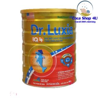 Sữa bột Dr.Luxia IQ 4 của US Cali dành cho trẻ trên 2 tuổi (900gram) [SALE DATE 09 07 2021] thumbnail