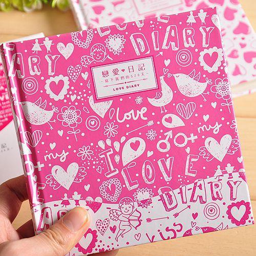 Mua Sáng Tạo Tình Yêu Nhật Ký Màu Ghi 521 Nam Bạn Gái Nhật Ký Sách Tình Yêu Raiders Ngày Valentine