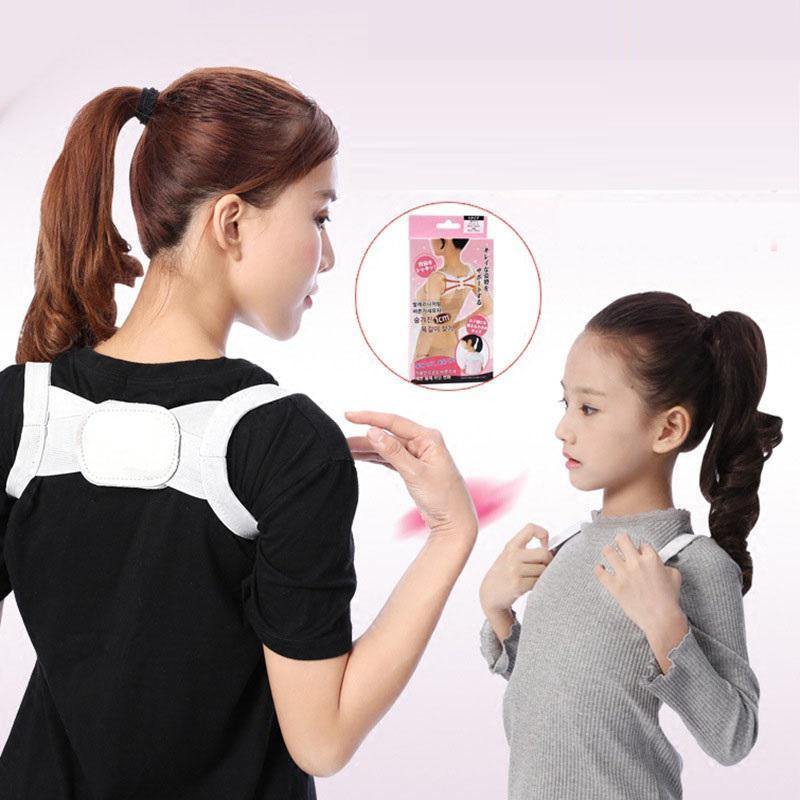 [CÓ VIDEO] Đai chống gù lưng hiệu quả free size loại cao cấp 2020-đai chống gù lưng trẻ em người lớn hàng xuất nhật free size 53kg