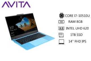 [Trả góp 0%]AVITA LIBER V 14 Angel Blue with Backpack - Intel Core i7-10510U RAM 8GB SSD 1TB Win 10 Home - Bảo hành 18 tháng - Tặng Balo - Hàng chính hãng thumbnail