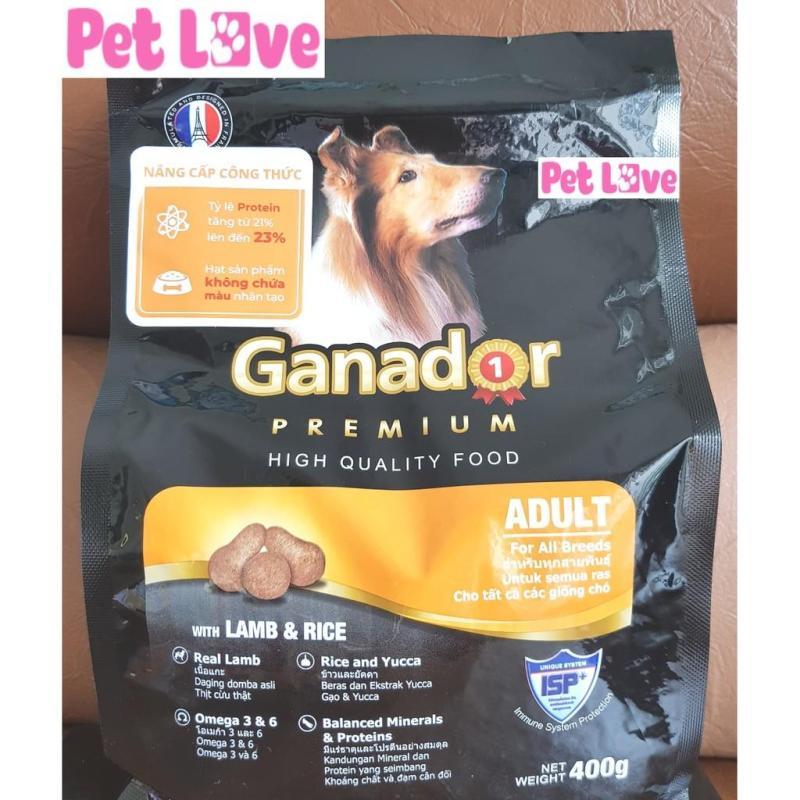 Thức ăn hạt Ganador cho chó lớn (gói 400g)