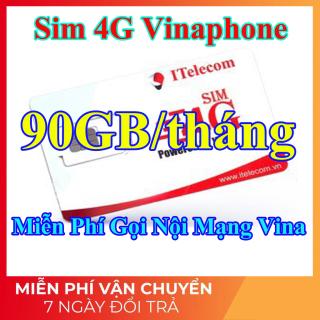 Sim 4G Vina - 90GB tháng + Miễn Phí Gọi Nội Mạng Vinaphone (Giống như sim 4G Vinaphone VD89P) - Shop Lotus Sim Giá Rẻ thumbnail
