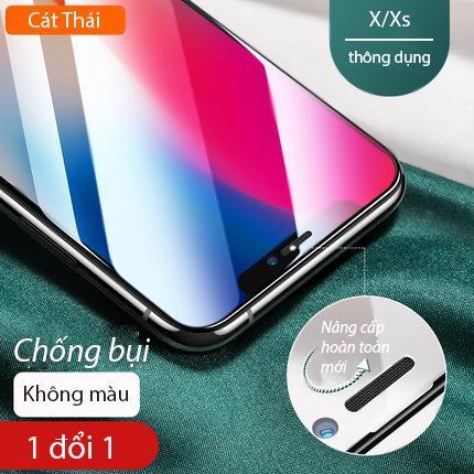 Giá [Miếng dán màn hình] Kính cường lực Cát Thái dành cho Iphone 6/7/8/X/11 6Plus 7Plus 8Plus XS MAX Iphone 11 Pro Max