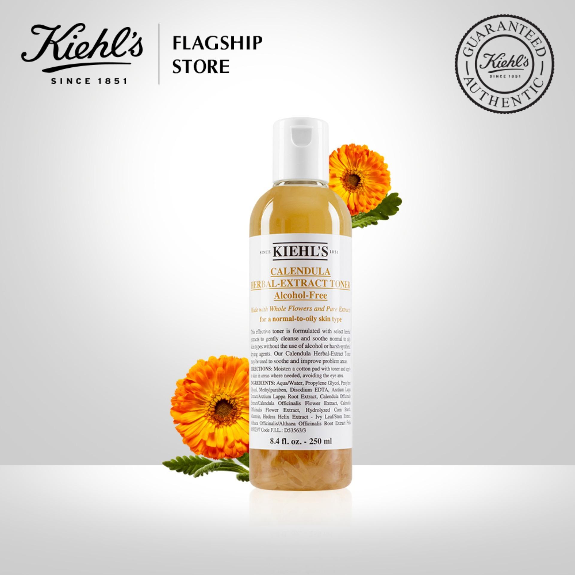 Nước cân bằng Hoa Cúc Kiehls Calendula Herbal Extract Alcohol-Free Toner 250ML
