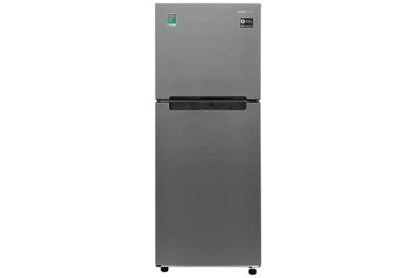 Tủ lạnh Samsung Inverter 208 lít RT19M300BGS/SV,Làm lạnh đa chiều,khay ngăn lạnh:Kính chịu lực Công suất tiêu thụ 0.9 kW/ngày
