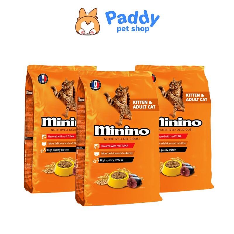 [480g] Thức ăn hạt cho mèo Minino TUNA