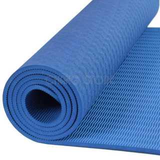 Thảm tập Yoga Gym TPE 2 LỚP Cao Su Non Dày, Êm Chống Trơn Trượt + Tặng Túi Đựng Tiện Dụng 3