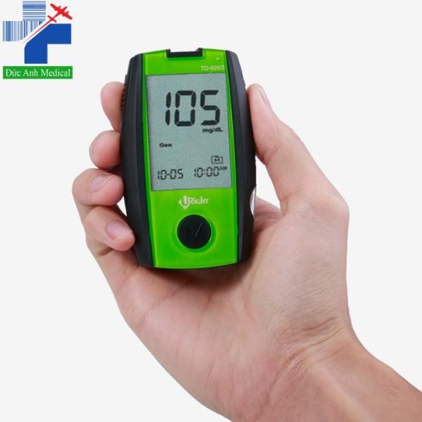 Nơi bán Máy đo đường huyết Uright TD 4267 [tặng kèm que thử + kim lấy máu]