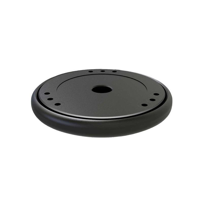 Giá Sound Isolation Platform Damping Recoil Pad For Apple Homepod Amazon Echo Google Home Stabilizer Smart Speaker Riser Base(Black)