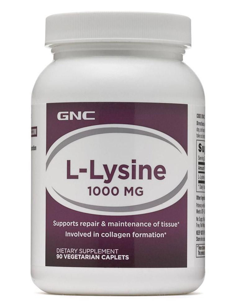 Coupon Giảm Giá Viên Uống L-lysine Now GNC Loại 1000mg 90 Viên - Bổ Sung Amino Axit Điều Hòa Nội Tiết L Lysine