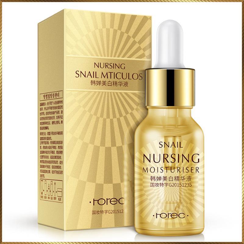 Serum ốc sên dưỡng trắng và làm sáng da Snail Nursing Rorec -OS12-A01T2