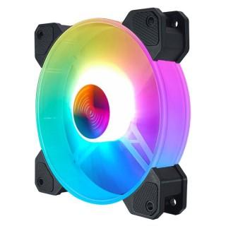 QUẠT LED CASE COOLMOON V11 LED RGB 12CM thumbnail