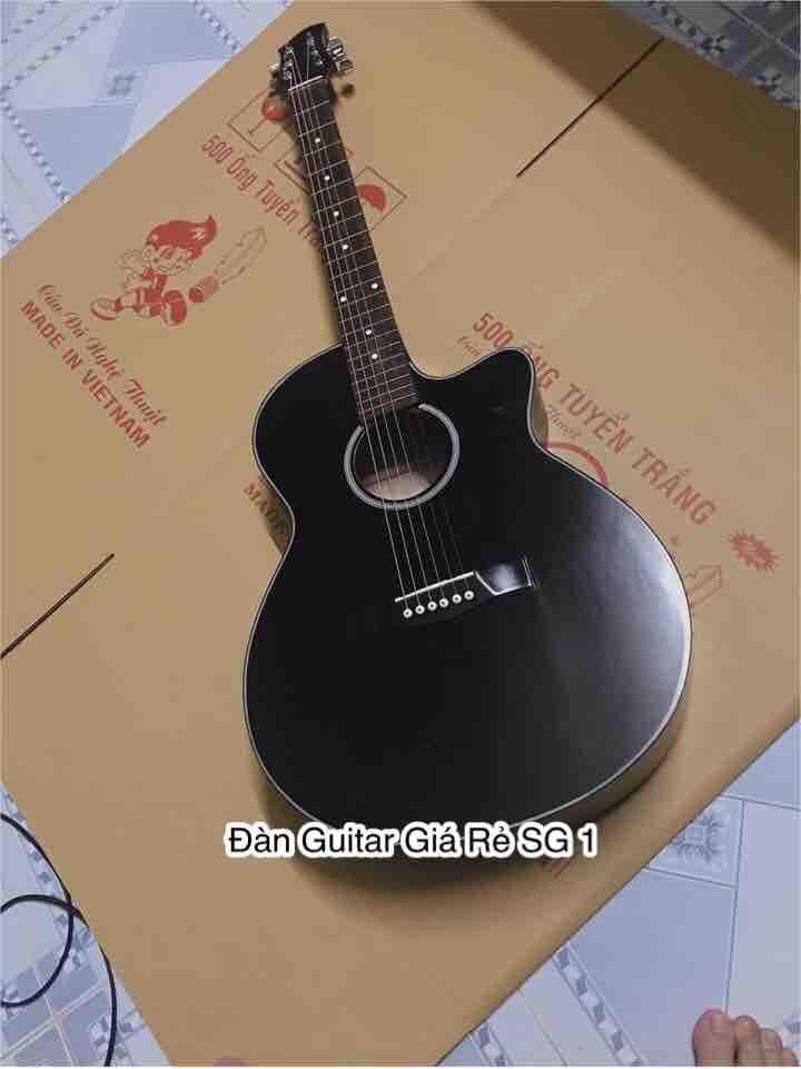 Đàn guitar Acoustic dành cho người mới tập