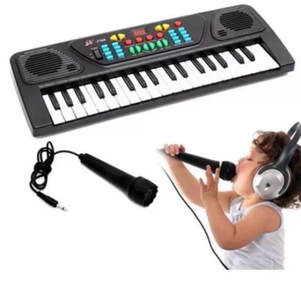 Đàn piano điện tử 37 phím, Đàn điện tử organ 37 phím, Đồ chơi âm nhạc, Đàn cho bé