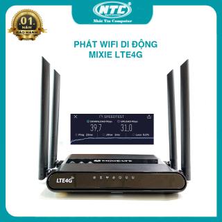 Phát wifi từ sim 4G MIXIE LTE4G hỗ trợ 32 user phát sóng cực xa - nguồn trực tiếp 12V (đen) - Nhất Tín Computer thumbnail
