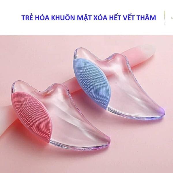 Thanh Lăn Massage Mặt Đá Lạnh Hình Cá Giảm nọng mỡ trên mặt, giúp mặt V-line hơn nhập khẩu