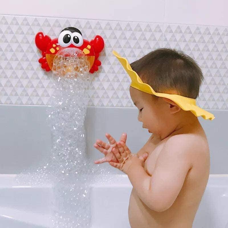 Cua thổi bong bóng và hát nhạc - Đồ chơi phòng tắm cho bé
