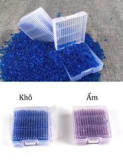 Hạt hút ẩm loại 1 hộp 50 g có thể tái sử dụng lâu dài