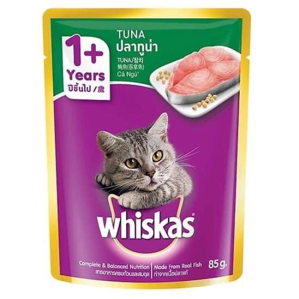 Patê Whiskas Thức Ăn Cho Mèo Nhiều Vị Thơm Ngon Mua Nhiều Mix Combo Siêu Tiết Kiệm