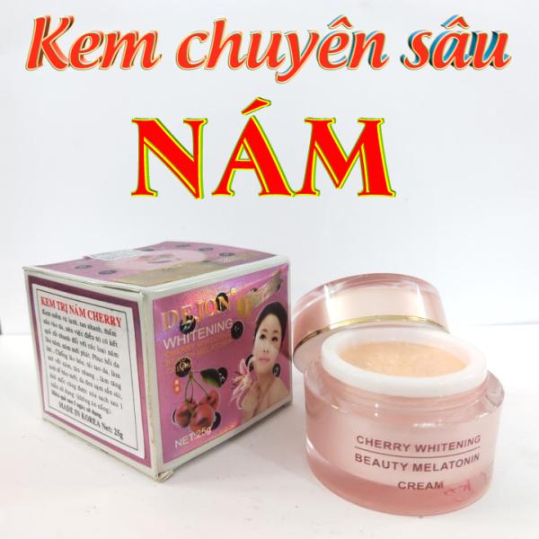 Kem nám tàn nhang dưỡng trắng da Cherry Hàn Quốc 25g nhập khẩu