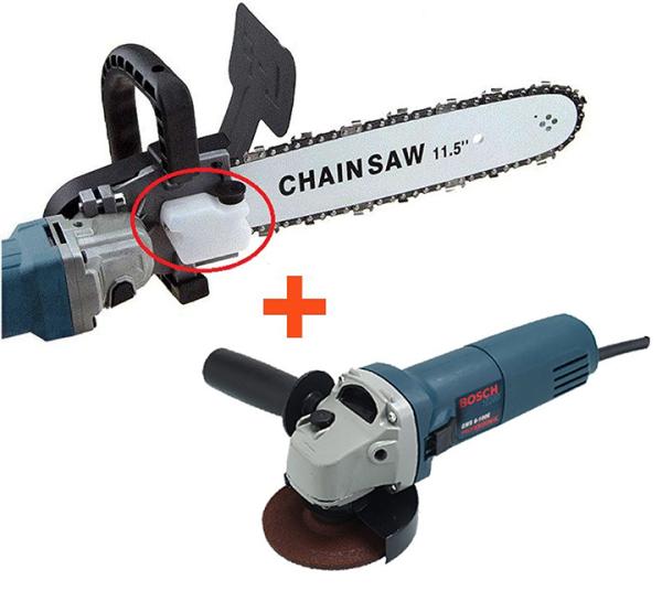 [LOẠI XỊN] Lưỡi cưa xích gắn máy mài BOSSH - Bộ chuyển đổi máy mài thành máy cưa - Cưa cây - Cắt gỗ - Cắt cành - luoi xua xich gan may mai BOSH