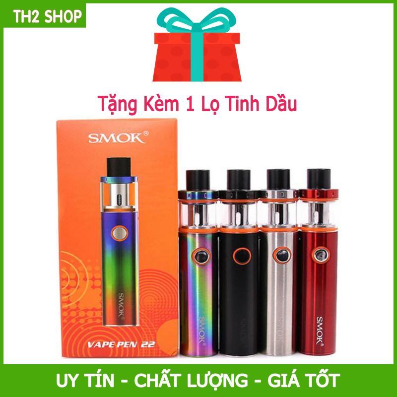Giá Vape Siêu Khói Smok Pen 22 50w  + Full combo chất lượng nhất 2019 + Tặng 1 Tinh Dầu Siêu Khói