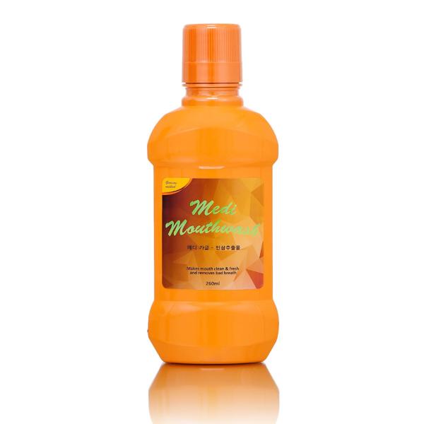 Nước súc miệng Medi Mouthwash Ginseng vị nhân sâm 260ml- Made in Korea - DALITEK VIỆT NAM