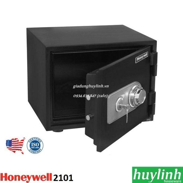 Két sắt khóa cơ chống cháy, chống nước Honeywell 2101
