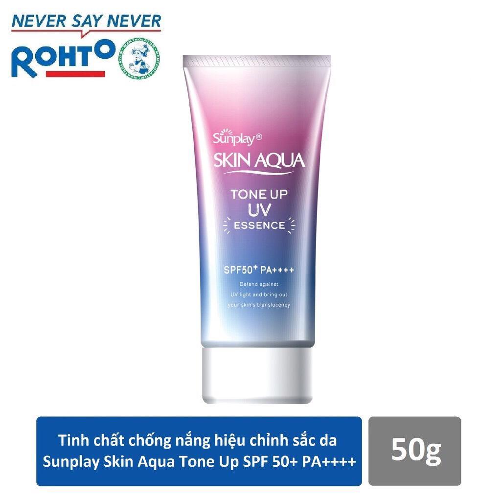 Kem chống nắng Sunlay Skin Aqua Tone Up UV Essence 50g nhập khẩu