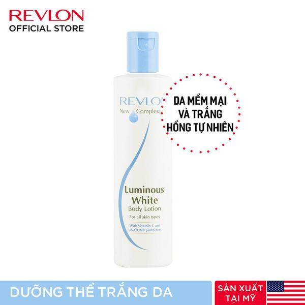 [QUÀ TẶNG KHÔNG BÁN] Sữa dưỡng thể trắng sáng tự nhiên Revlon New Complexion Luminous Whitening