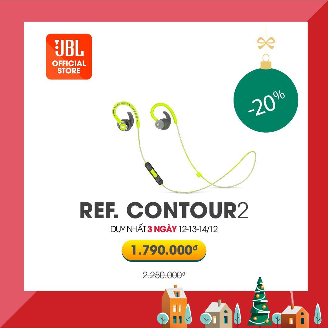 Tai Nghe Bluetooth JBL Reflect Contour 2 - Thời Lượng Nghe Nhạc đàm Thoại Lên Tới 10 Tiếng áp Dụng Công Nghệ Sạc Nhanh - Hàng Chính Hãng Có Giá Tốt