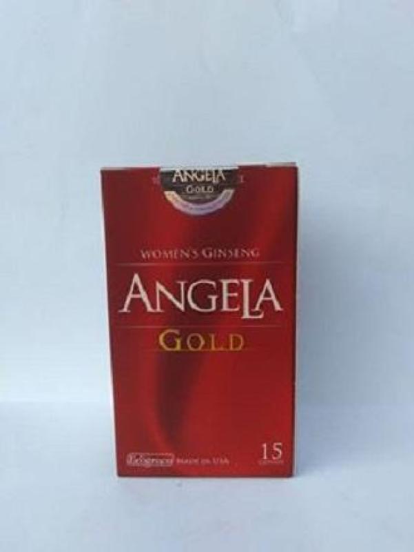 VIÊN UỐNG LÀM ĐẸP DA - TĂNG NỘI TIẾT TỐ - SỨC KHỎE - SẮC ĐẸP VÀ SINH LÝ NỮ SÂM ANGELA GOLD 15 viên giá rẻ