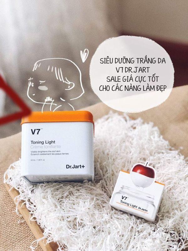 Kem dưỡng trắng tái tạo da V7 Toning light Hàn Quốc