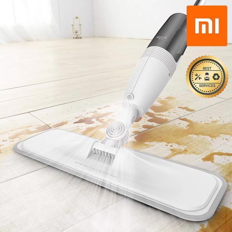 Cây lau nhà thông minh 2 trong 1 Xiaomi có phun nước Deerma Water Spray Mop - Bảo hành 6 tháng