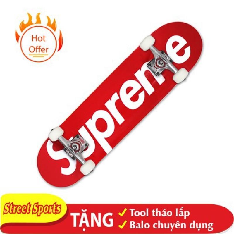 Giá bán Ván Trượt Skate Supereme 1200-13 Tăng Kèm Tool + Túi Đựng Ván