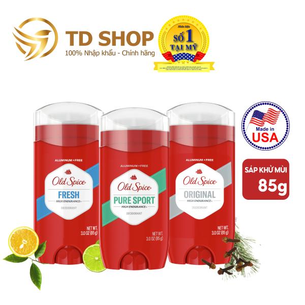Lăn Sáp Khử Mùi Old Spice HighEndurane Pure Sport I Fresh I Original 85g - TD Shop giá rẻ