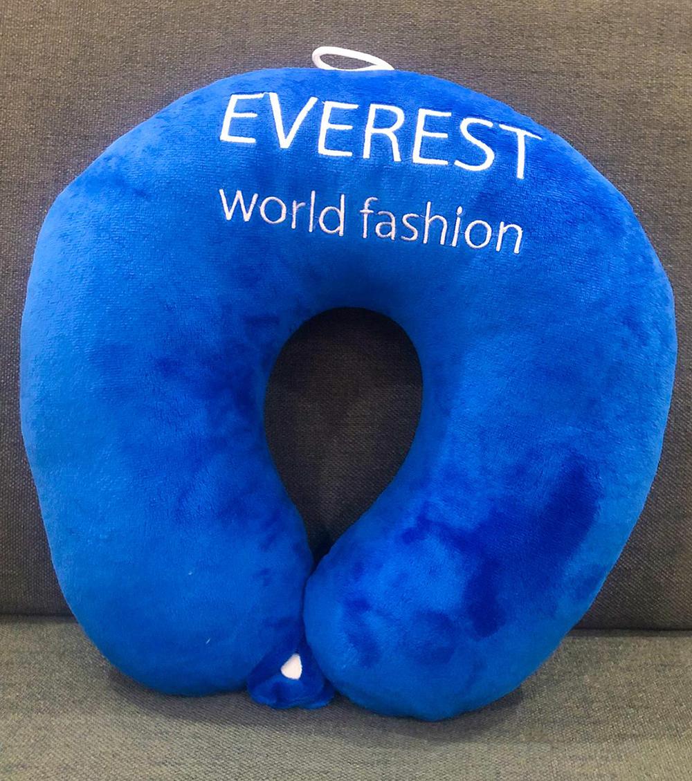 [HCM]Gối kê cổ gối chữ U Xanh dương Everest