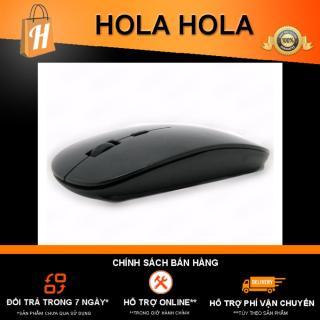 [HCM]Chuột không dây thời trang Detek W1 (màu đen) thumbnail
